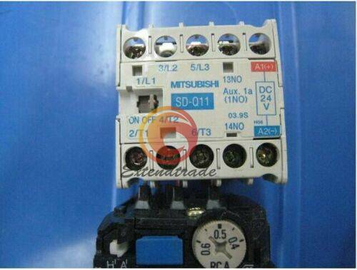 USED Mitsubishi SD-Q11 Electric Magnetic Contactor 24VDC