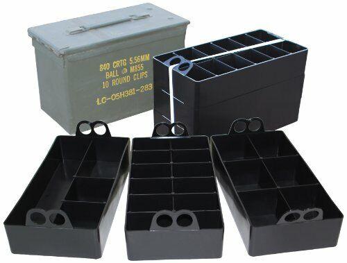 MTM Ammo Can Organizer (Black)