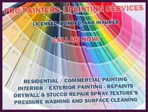 HOUSE PAINTING: INTERIOR AND EXTERIOR. PAINTER /