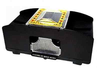 Kartenmischgerät Kartenmischmaschine Poker 2 Decks Kartenmischer Karten-Mischer