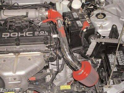 Injen CARB Legal IS Short Ram Intake Kit 95-99 Mitsubishi Eclipse Non-Turbo  - Mitsubishi Eclipse Short Ram Intake
