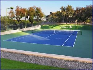 Tennis LESSONS and racket STRINGING & customization