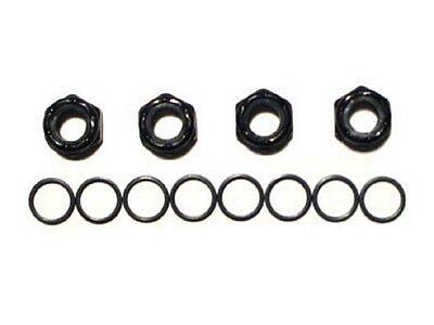 4 Axle Nuts /Achsen Muttern + 8 Speedrings /Washer Skateboard Achse Hardware Set