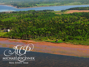 GRAND TRACADIE 36 Acres Waterfront Potential for development PEI