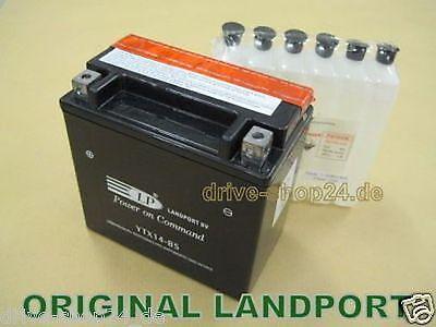 LANDPORT Roller-Quad- Batterie YTX5L-BS - 12V 4Ah ytx5 ()