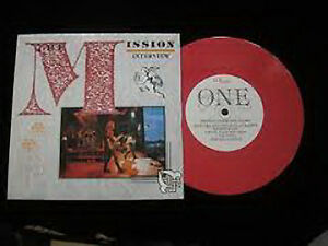 The-Mission-Interview-86-NEW-MINT-Ltd-edition-7-inch-single-on-PINK-vinyl