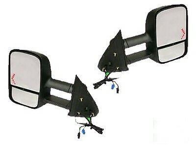 New Pair Side TOW Mirrors 1500 2500 Silverado 2003 2004 2005 2006 HD W/Signal