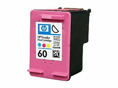 NEW HP CC643WN #60 Color Ink Cartridge Genuine NEW
