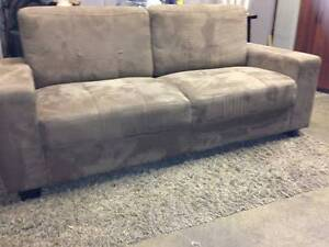 Brown Boxy COUCH - delivery