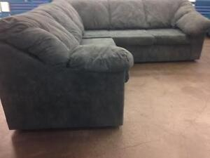 Green / Blue SECTIONAL -  delivery