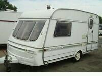 Small 2/3 birth caravan rental