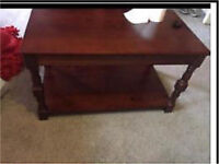 Coffee table plus matching nest of tables. Petite free delivery
