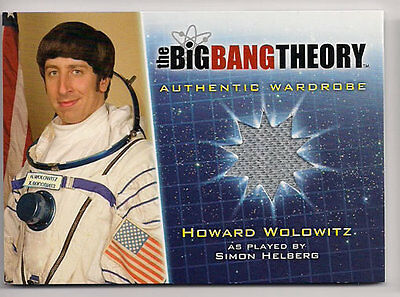 Big Bang Theory Season 5 Kostüm Karte M25 Howard Wolowitz