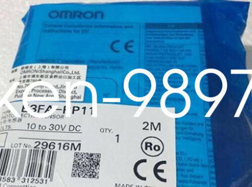 ***New*** Omron Automation E3JM-DS70M4T-US Sensor AC//DC; Relay *In Box*