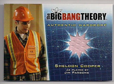 Big Bang Theory Staffel 5 Kostüm Karte M21 V1 Orange Variante Sheldon Cooper ()