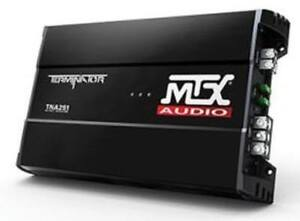 2 MTX Audio Terminator TNA251 , New