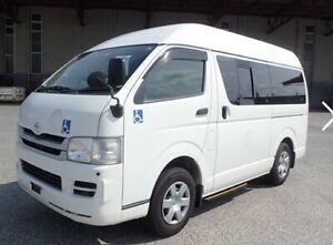 2009 Toyota Hiace WELCAB, wheelchair able van, carries 8 plus wheelchair Yorklea Richmond Valley Preview