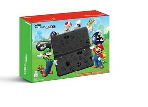 New Nintendo 3DS Super Mario Black, Brand NEW!