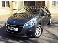 2016 Peugeot 208 1.2 PureTech 82 Active 5 door Petrol Hatchback