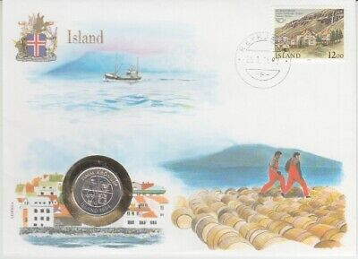 Numisbrief Letters of Nations Iceland