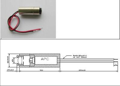 650nm 5mw Laser Module.3.2v 12x30mm Kip Kay Project