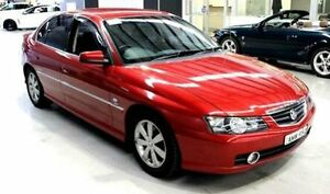 2002 Holden Calais VY Red 4 Speed Automatic Sedan Orange Orange Area Preview