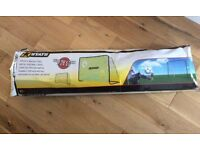 Brand New Stats Metal Football Goal, 7x5ft