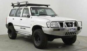 2006 Nissan Patrol GU IV DX (4x4) White 5 Speed Manual Wagon Roselands Canterbury Area Preview