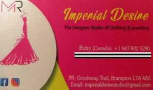 IMPERIAL DESIRE-Women's Dresses/ Lehngas / Punjabi Suits