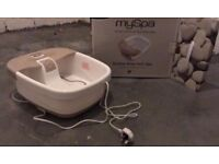 MySpa Bliss footspa (brand new)
