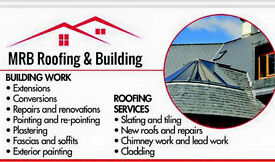 Re-roofs flat roofs slating tiling