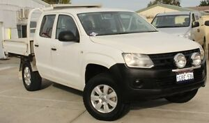 2012 Volkswagen Amarok 2H MY12 TDI340 (4x2) 6 Speed Manual Dual Cab Chassis Cannington Canning Area Preview