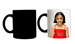 Magic Mug Personalized with Picture and Logos and Text