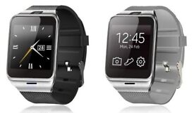 bluetooth smart watch whatsapp facebook (can be linked with your smart phone)water resistant