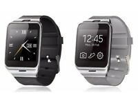 bluetooth smart watch() (can be linked with your smart phone)(sim card/ sd card)(water resistant
