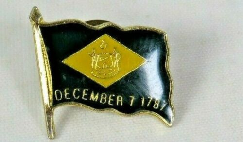 Delaware State Flag December 7, 1787 Lapel Pin - A3