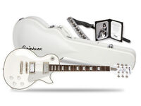 Epiphone Limited Edition Tommy Thayer White Lightning Les Paul Guitar