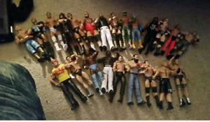 Wwe stuff for sale figures shirts  dvds