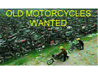Old Motorcycles Wanted Bits Complete Bike Motorbike Trike Wanted Bought for Cash Trike