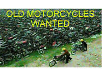 Old Motorcycle Wanted Bits Complete Bike Motorbike Trikes Wanted Bought for Cash Trike