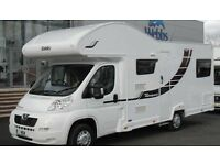 Motorhome hire Glasgow,6 berth camper van , summer Holliday , short break