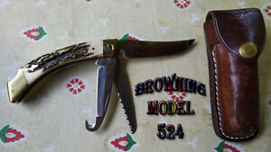 Couteau Pliant Browning