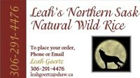 WILD RICE FROM FAR  N SK  FOR SALE IN SASKATOON SPECIAL