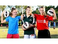 GIRLS/LADIES FOOTBALL FOR ALL AGES 11 PLUS