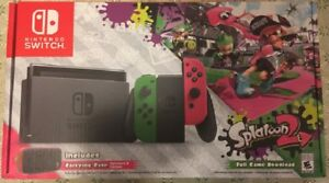 Brand New Splatoon 2 Nintendo Switch Bundle