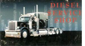 Diesel Service Shop is truck and trailer repair shop.