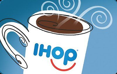 $25 IHOP Gift Card For Only $23.75! - FREE Mail Delivery