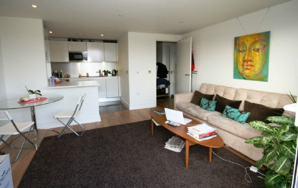 A superb two double bedroom two bathroom apartment on the first floor in this modern development