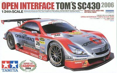 KIT TAMIYA 1:24 AUTO OPEN INTERFACE TOM'S SC430  24293 - Auto Interface Kit