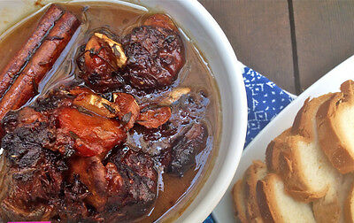 Pepperpot... sticky and spicy. Image: Loretta'skitchen